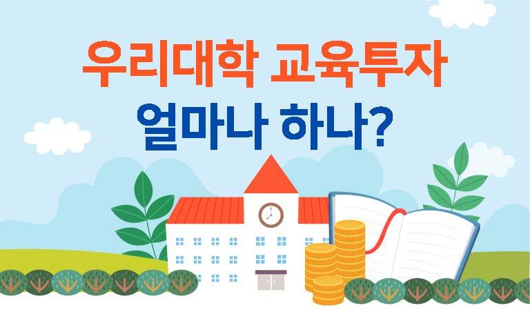 [우리대학 교육투자 얼마나 하나] 사립대학 교육투자 현황