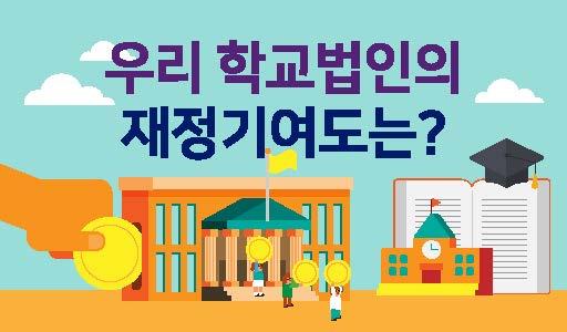 [우리 학교법인의 재정기여도] 법인전입금 현황
