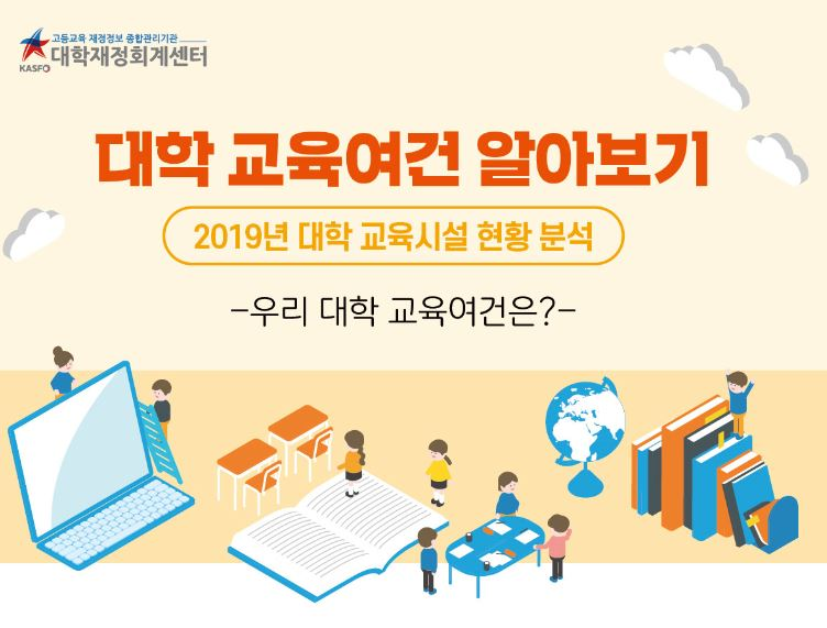[우리 대학 교육여건은?] 2019년 대학 교육시설 현황