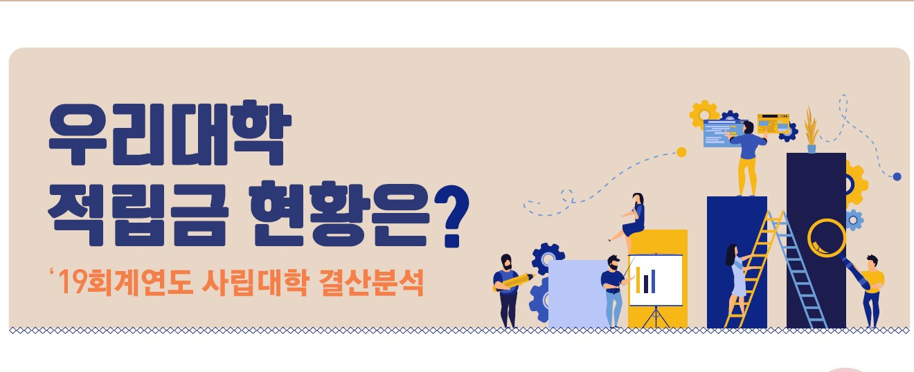 [우리 대학 적립금 현황은?] 2019회계연도 결산 분석